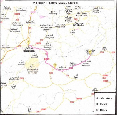 Maroc-Zaouit Dades Marrakech