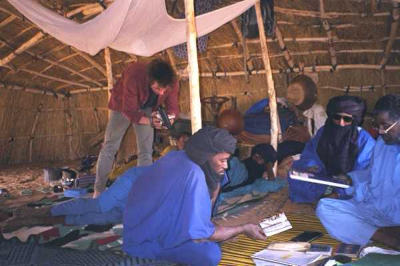 Echag tournage-2001