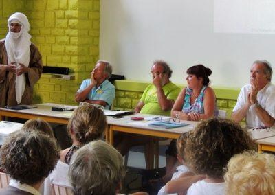 Issouf, Jean-Pierre, Jean-Claude, Patricia et Jean-Luc
