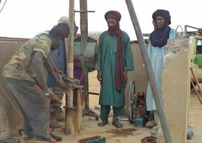Mali Echag: réparationde la pompe en novembre 2017