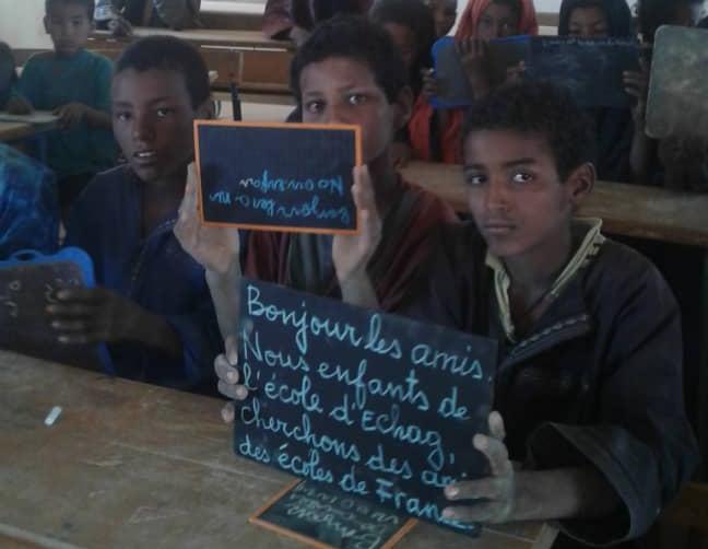 l'école d'Echag au Mali