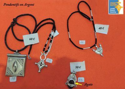 planche n°10_pendentifs en argent