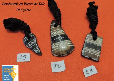 planche n°11_pendentifs pierre de talc