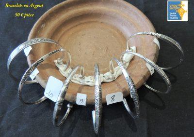 planche n°4_ bracelets en argent